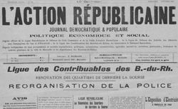 """Accéder à la page """"Action républicaine (L')"""""""