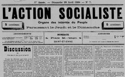 """Accéder à la page """"Action socialiste (L')"""""""