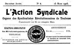L'Action syndicale de Toulouse