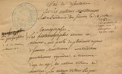 """Accéder à la page """"Livres manuscrits de l'Académie"""""""