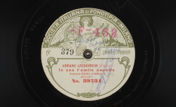 """Adriana Lecouvreur : """"Io son l'umile ancella"""" ; Cilea, comp. ; Emma Carelli, S ; acc. de piano - source : gallica.bnf.fr / BnF"""