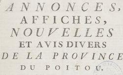 """Accéder à la page """"Affiches du Poitou"""""""