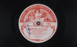 L'africana. O grande S. Domenico. All'erta marinar / Meyerbeer, comp. ; Pasquale Amato, BAR ; choeur et orchestre - source : gallica.bnf.fr / BnF
