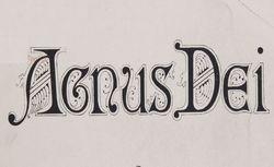 """Accéder à la page """"Agnus Dei"""""""