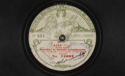"""Aïda. Duetto atte III : """"Rivedrai le foreste inbalsamate"""" ; Verdi, comp. ; G. Russ, soprano : Aïda et A. Magini-Coletti, baryton : Amonasro ; acc. de piano - source : gallica.bnf.fr / BnF"""