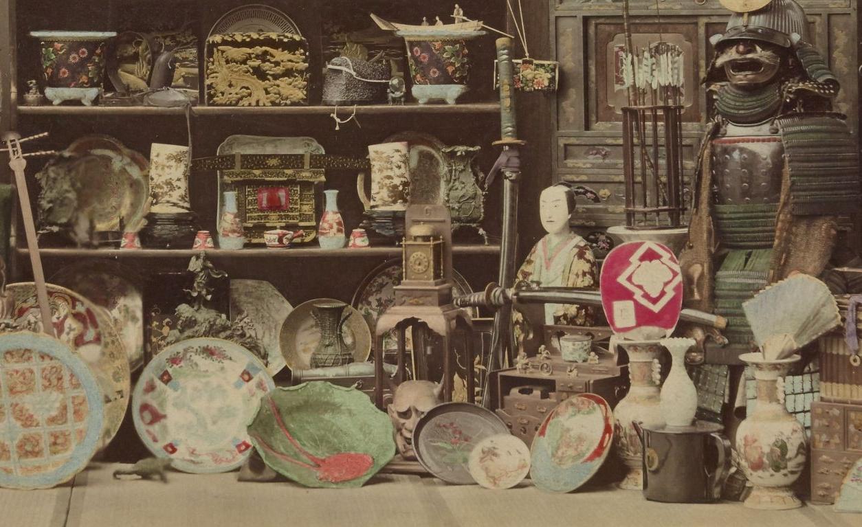 R. Stillfried. Japonais, 1877-78. SG WD-232 (RES) .Vue 12