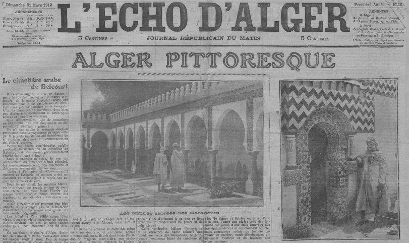 """Accéder à la page """"Echo d'Alger (L')"""""""
