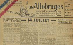 """Accéder à la page """"Allobroges (Les)"""""""