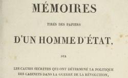 """Accéder à la page """"Allonville, Mémoires tirés des papiers d'un homme d'Etat"""""""