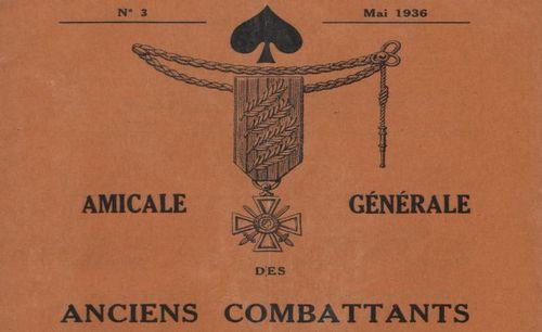 """Accéder à la page """"Amicale générale des anciens combattants du 44e Régt. d'infanterie et du 244e Régt. d'infanterie. Bulletin trimestriel """""""