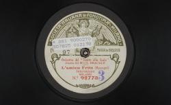 L'Amico Fritz. Intermezzo / Mascagni, comp. ; Orchestro del Teatro alla Scala ; Bracale, dir. - source : gallica.bnf.fr / BnF
