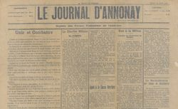"""Accéder à la page """"Journal d'annnonay (Le)"""""""
