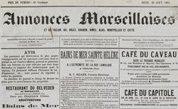 """Accéder à la page """"Annonces marseillaises"""""""