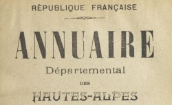 """Accéder à la page """"Annuaire des Hautes-Alpes"""""""
