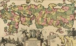 Imperium Japonicum per regiones digestum sex et sexaginta atque ex ipsorum japonensium mappis descriptum, 1718, CPL GE DD-2987 (7436)