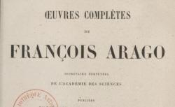 """Accéder à la page """"Arago, François, Histoire de ma jeunesse"""""""