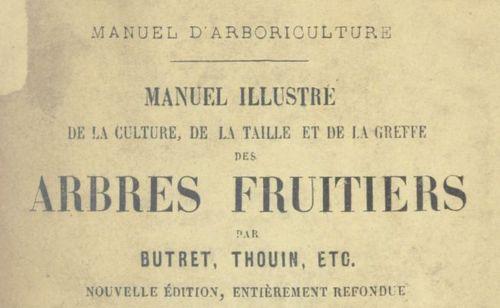 """Accéder à la page """"Traités d'arboriculture fruitière et de pomologie"""""""