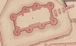 Plan de la Bastille et de L'Arcenal