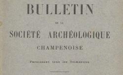 """Accéder à la page """"Société archéologique champenoise (Reims)"""""""