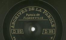"""Accéder à la page """"Dialogue (patois de Florenville) ; Les foins et la moisson : dialogue (patois de Florenville) / Adèle Rézette (33 ans, ménagère), Clarisse Renauld (32 ans, ménagère)"""""""