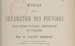 Saint-Girons, Antoine (1854-1941)
