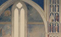 Assise. Basilica di San Francesco, basilica superiore. Henri Labrouste, 1825.