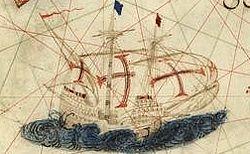 Détail [Atlas nautique du Monde, dit atlas Miller] ; 2-5. [Atlas Miller : feuilles 2 à 5 ]
