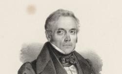 Daniel-François-Esprit Auber, lithographie de Jacques-François Gaudérique Llanta, 1850 - source : gallica.bnf.fr / BnF