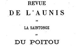 """Accéder à la page """"Revue de l'Aunis"""""""