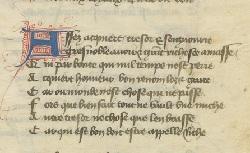 Figure de l'humanisme français: Christine de Pizan a rédigé des poèmes, des traités philosophiques, politiques, et militaires  Autresballades_fr.12779