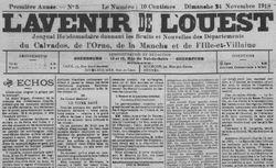 """Accéder à la page """"Avenir de l'Ouest (L')"""""""