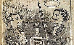 """Détail : """"Ba-ta-clan : chinoiserie franco-brésilienne paraissant le samedi"""", n° 1, 1er juin 1867"""