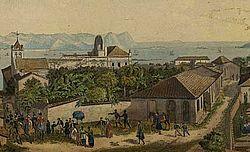 Panorama do Rio de Janeiro segundo panorama pintado em Paris