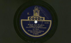 (3 disques : NC Odéon O4312 [11-12]-[13-14]-[15])