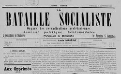"""Accéder à la page """"Bataille socialiste (La) Béziers"""""""