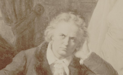 Ludwig van Beethoven, d'après le portr. de Frédéric Théodore Lix, 1870