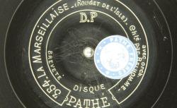 Disque NC Pathé saphir 354/400 - Hippolyte Belhomme (1854-1923) est une basse française de l'Opéra-comique - source : BnF/gallica.bnf.fr