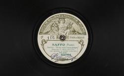 """Saffo. Cavatina : """"Di sua voce il suon giungea"""" ; Pacini, comp. ; Giuseppe Bellantoni, baryton ; acc. de grand orchestre - source : gallica.bnf.fr / BnF"""