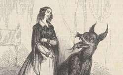 Le Magasin des enfants, par Mme Leprince de Beaumont, revu et augmenté de nouveaux contes, illustrations de Th. Guérin, 1843