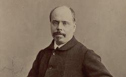 Adolphe Belot, photographie, tirage de démonstration de l'Atelier Nadar (1900)