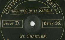 """Accéder à la page """"Oh ! ma bergère : chanson / Françoise Dupont (65 ans, cultivatrice), chant ; Appel aux bêtes / Solange Rémi (79 ans, cultivatrice), Marie Viaud (52 ans, cultivatrice), voix."""""""