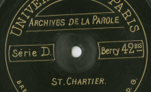 """Accéder à la page """"Traduction du questionnaire ; Le coucou : fable ; La fouine : fable / Abbé Jacob (curé de Saint-Chartier), voix."""""""