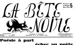 La Bête noire : artistique et littéraire