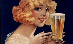 Brasserie Greff, Bière Divette [affiche]