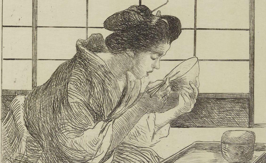 G. Bigot. Croquis japonais. 1886. PET FOL-OD-301. Vue 22.