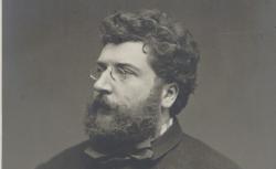 Georges Bizet, par Etienne Carjat. 1875