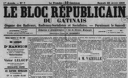publication disponible pour l'année 1906
