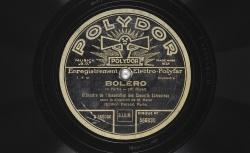 Enregistrements du Boléro, de Maurice Ravel / Gallica - BnF