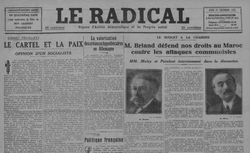 """Accéder à la page """"Radical (Le)"""""""