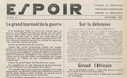 """Accéder à la page """"Espoir (L') (Saint-Etienne)"""""""